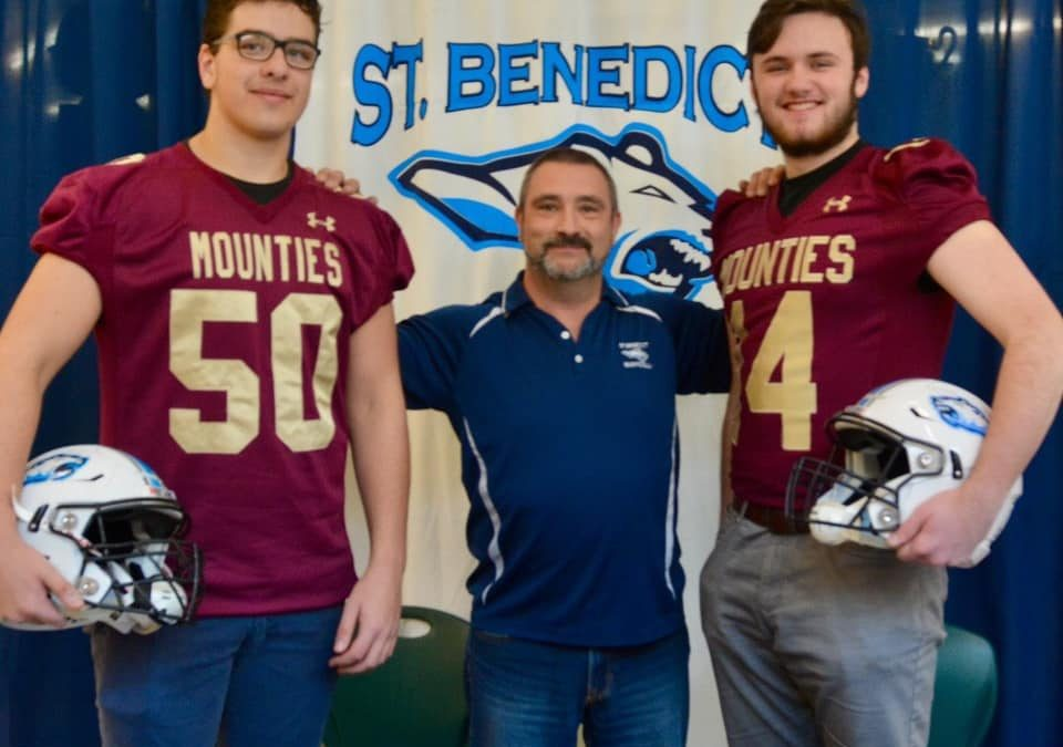 Rocha and Robinson Commit to Mount Allison
